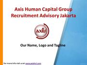 Axis Human Capital Group Recruitment Advisory Jakarta: Our Name, Logo