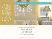 The Stiffel Lamps, a new arrival