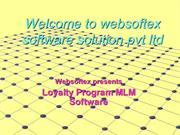 Loyalty Program Software, Loyalty Program MLM Software, MLM Compensati