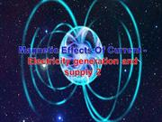 2 Magnetic Effects Of Current - Electricity generation and supply AVSF