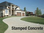 Value and Features of Stamped Concrete- stamped concrete st louis
