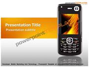 Mobile Marketing And Technology - Powerpoint Template