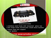 Seavy kitchen chimney, built in hobs, cooktops india