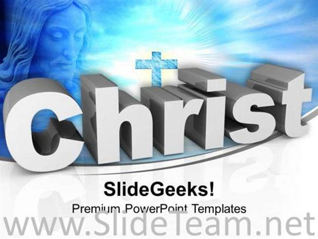 Jesus christ cross christianity powerpoint templates ppt background related powerpoint templates toneelgroepblik Gallery