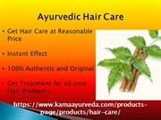 Ayurvedic Hair Care For Hair Loss