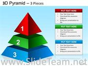 Business Strategy Pyramid Diagram