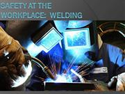 Safety at the workplace welding-1