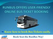 Online Bus Ticket Booking  | runBus.in
