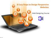 8 Easy Steps to Design Responsive Websites