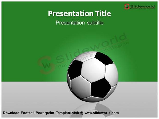 Download Football Powerpoint Template - Slide World |Authorstream