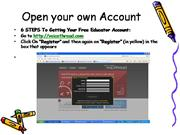Open Your Own VoicethreadAccount July 09