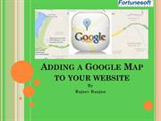 How to Add Google Map to your Website