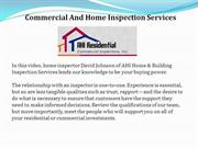 Commercial And Home Inspection Services