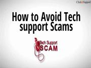 Raise awareness against Click4Support Scam