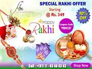 send rakhi online, rakhi gifts online delivery in delhi India