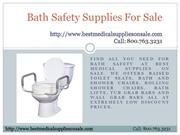 Bath Safety Supplies For Sale