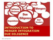 Due Diligence for succesful post merger integration