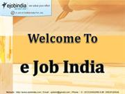 Ejob india - The Best PHP Training Institute in Kolkata