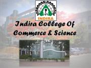 Indira Collge of Commerce & Science Infrastructure