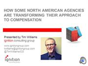 Tim Williams on how agencies are transforming approach to compensation
