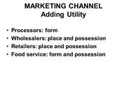 E235 20 Marketing Channel