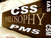 CSS Philosophy Lecture Notes