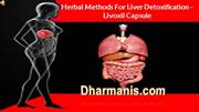 06-Herbal Methods For Liver Detoxification