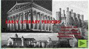 Early literary periods