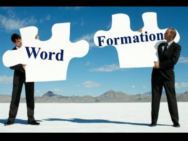 Word Formation AuthorSTREAM - Word formation