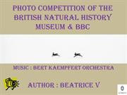 Photo competition of the british natural history museum