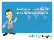 Peer Review and Editorial Decision Making at Journals