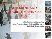 The Shops & Establishments Act, 1953