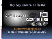 Buy Spy Camera in Delhi - 9811251277