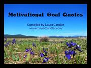 Motivational Quotes For Setting Goals