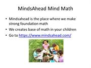 Mindsahead Mind Math