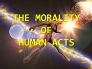 The Morality of Human Actions
