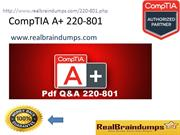 CompTIA A+ 220-801 Exam Dumps With Question Answers