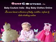 Baby Couture India | Buy Baby Boy Clothes | Baby Girl Clothes