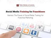 Social Media Training for Franchisors