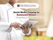 Social Media Training for Restaurant Owners