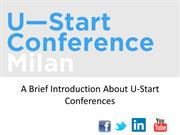 A Brief Introduction About U-start Conferences