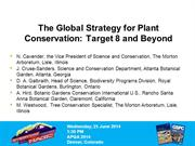 Conservation_The Global Strategy for Plant Conservation