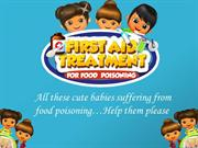 Free Android Kids Game - First Aid Treatment for Food Poisoning