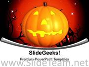 HAPPY HALLOWEEN EVENTS CELEBRATION POWERPOINT TEMPLATE
