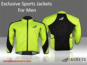 Exclusive Sports Jackets for Men - Alanic Jackets