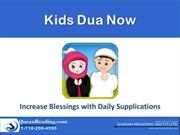 Kids Dua Now - A smartphone Applications for Kids