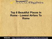 Top 8 Beautiful Places In Rome - Lowest Airfare To Rome