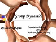 Definition Of Group …