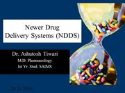 Newer drug delivery systems