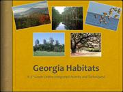 Habitats of Georgia Integrated Activity